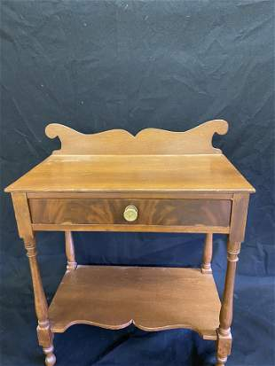 """c1850""""s Country Pine 1 Draw Wash Stand"""