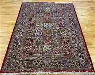 Vintage Persian Tribal Bakhtiari Oriental Carpet