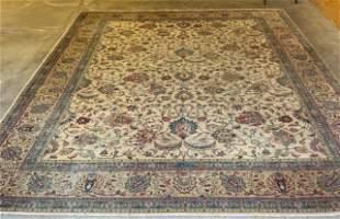 Antique Persian Tabriz Oriental Carpet