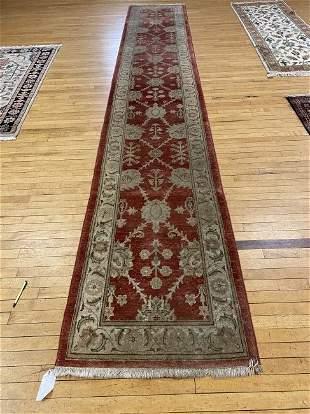 Vintage Zieglar Runner Oriental Carpet