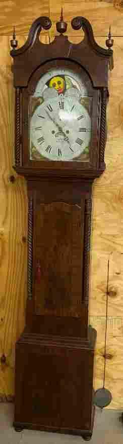 c1820-1825 Philadelphia Grandfather Tall Clock