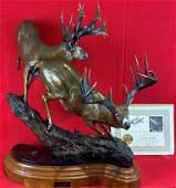 "Bronze Sculpture ""Autumn Legend"" by Dick Idol"