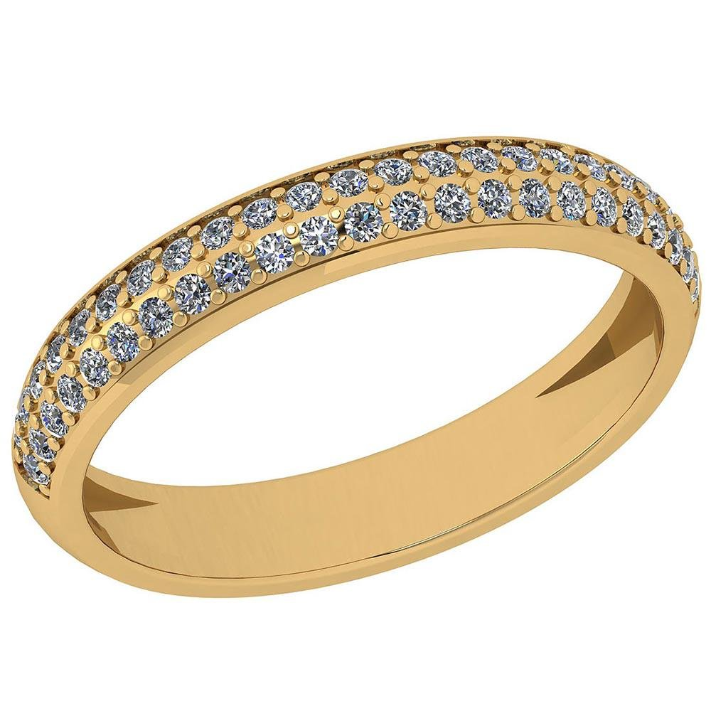 Certified 0.23 Ctw Diamond I1/I2 10K Yellow Gold Annive