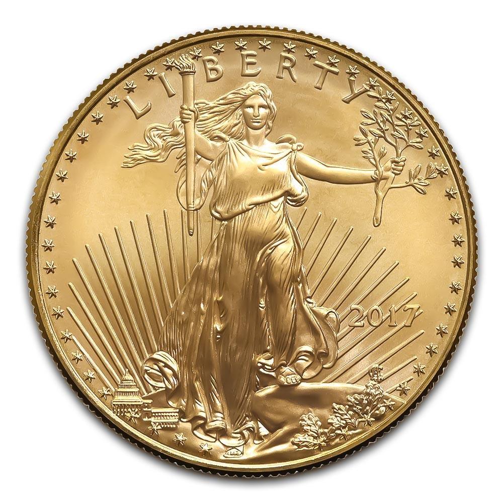 2017 American Gold Eagle 1 oz Uncirculated