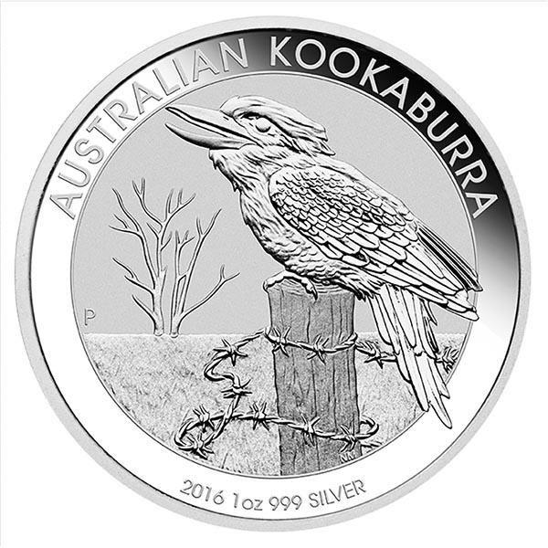 Australian Kookaburra 1 Oz. Silver 2016