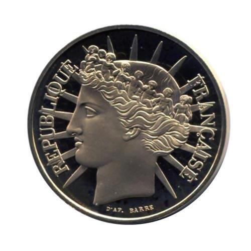 France 100 francs gold 1988 PF