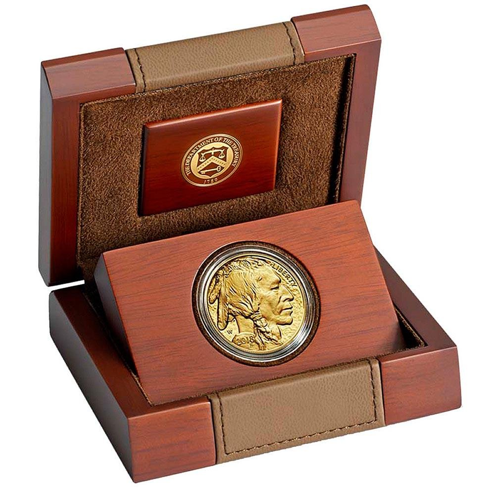 Proof Buffalo Gold Coin One Ounce 2018-W
