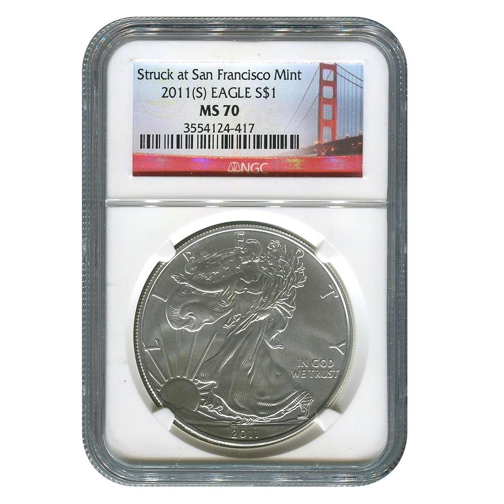 Certified Uncirculated Silver Eagle 2011 (San Francisco