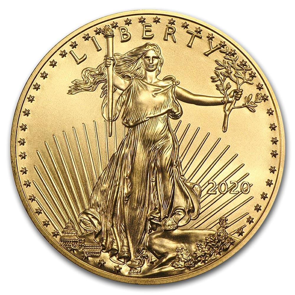 2020 American Gold Eagle 1/2 oz Uncirculated