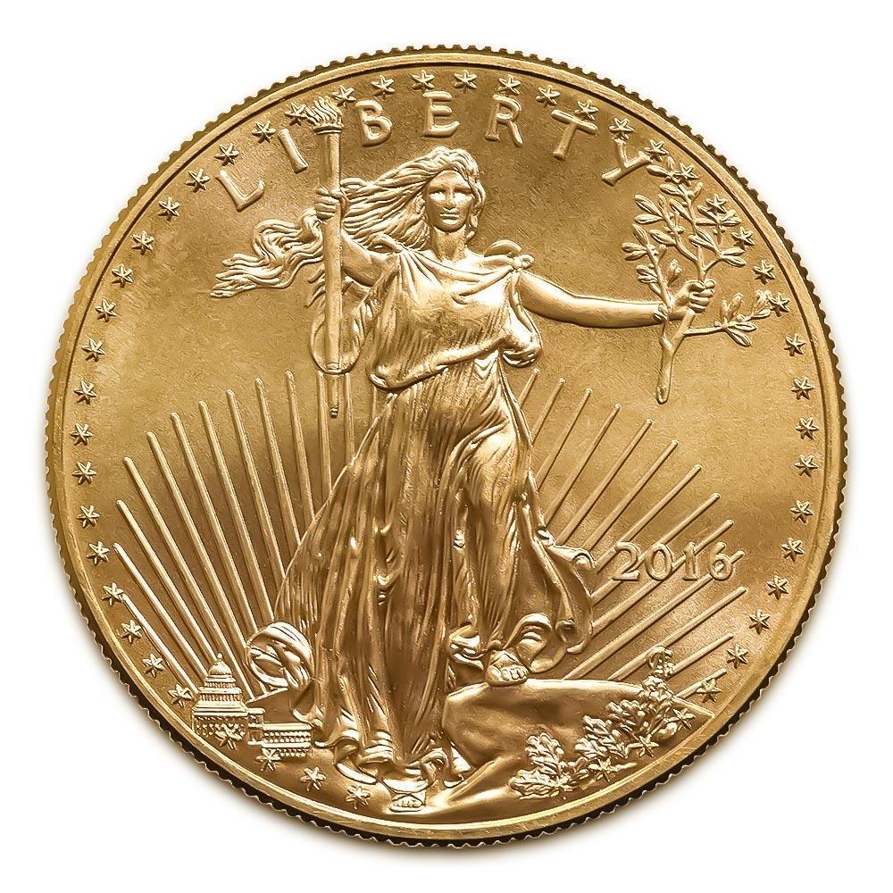 2016 American Gold Eagle 1 oz Uncirculated