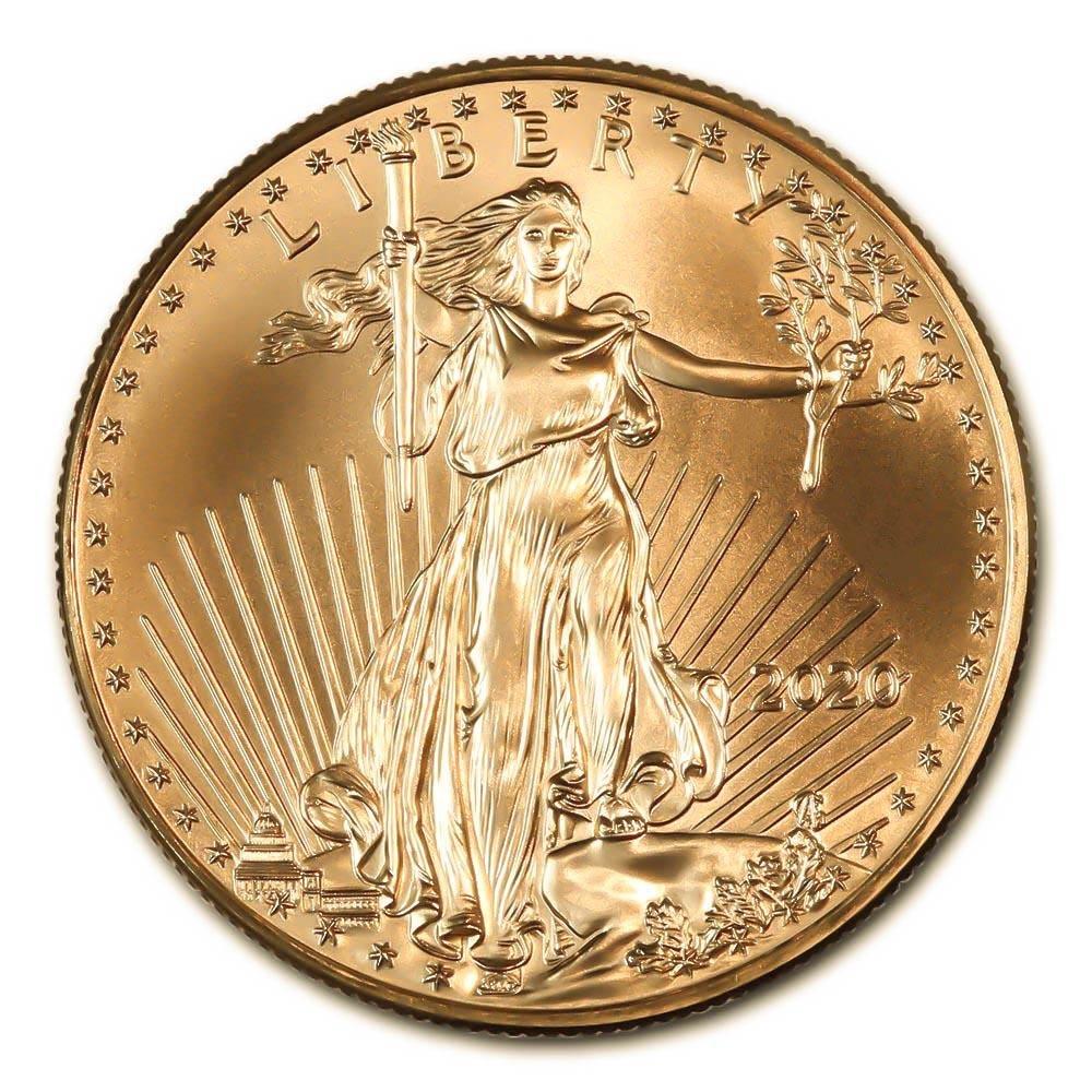 2020 American Gold Eagle 1 oz Uncirculated