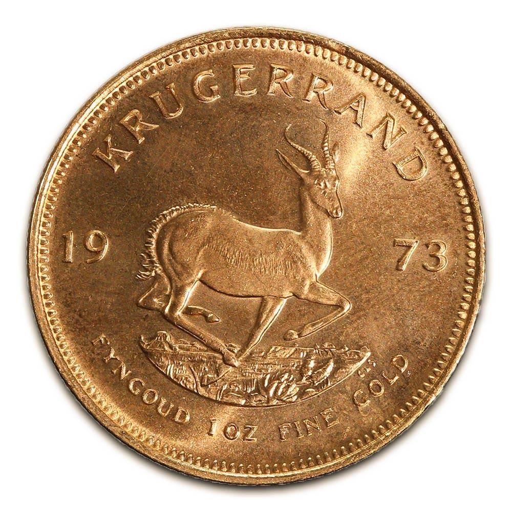 South Africa Gold Krugerrand 1 Ounce 1973