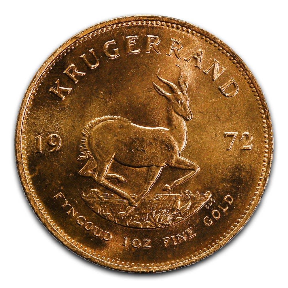 South Africa Gold Krugerrand 1 Ounce 1972