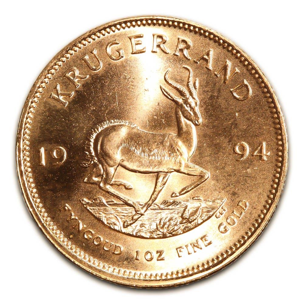 South Africa Gold Krugerrand 1 Ounce 1994