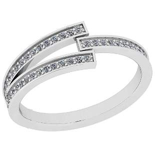 Certified 0.27 Ct Diamond I1/I2 10K White Gold Entity R
