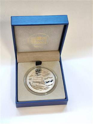 2016 Silver 10 Euro Great French Ships Proof (The Belem