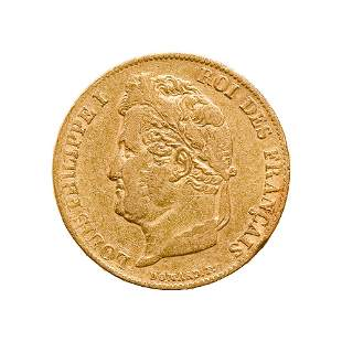 France 20 Francs Rooster Gold Coin 1901-1914