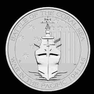 Australia 1/2 oz Silver 2015 American Memorial WWII Bat