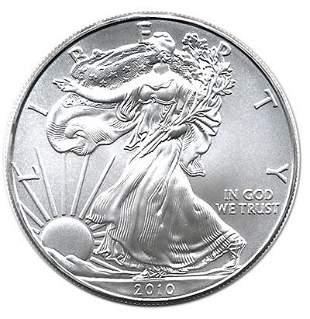 2010 1 oz Silver American Eagle BU