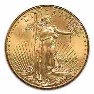 2010 American Gold Eagle 1/2 oz Uncirculated