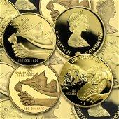 1987-2005 Canada 1/4 oz Proof Gold $100 (Random Year)