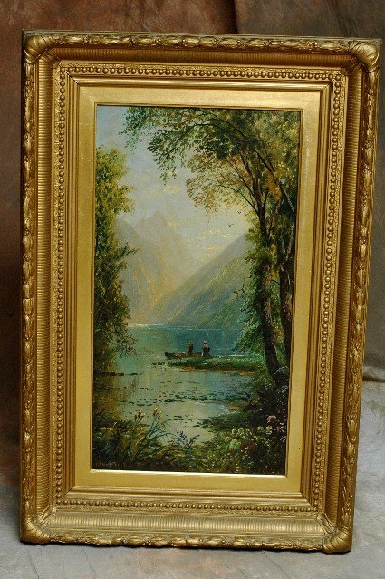 418: Impressionist Landscape Oil Painting CA