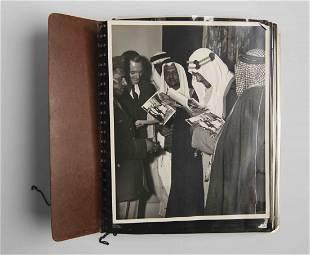 photo album of King Saud's