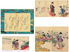 Yoshu Chikanobu Triptych