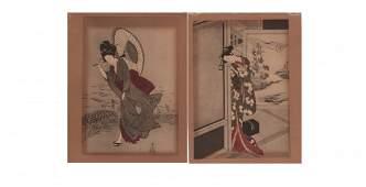 Suzuki Harushige Woodblock Prints