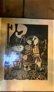 Pablo Picasso Claude Et Paloma