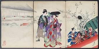 Toyohara Chikanobu: Inner Palace