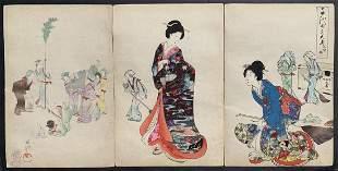 Toyohara Chikanobu: Theater Performance