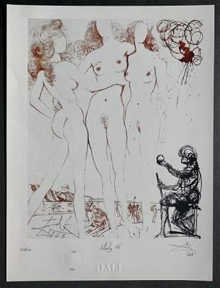 Salvador Dali: The Judgement of Paris