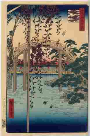 Ando Hiroshige: Tenjin Shrine