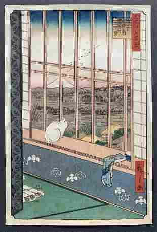 Ando Hiroshige: Torinomachi Festival