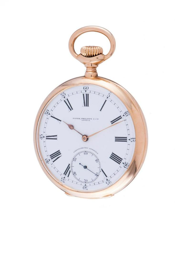 PATEK PHILIPPE GONDOLO POCKET WATCH