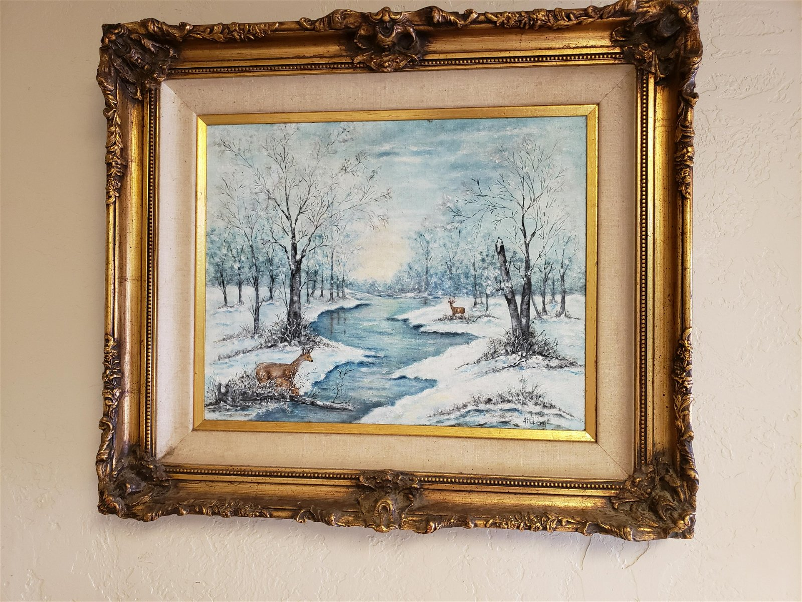 Lie Atterberg winter Painting Oil on Canvas