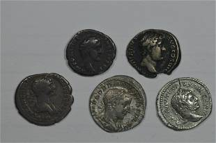 A First to Third Century AD Imperial Roman Silver