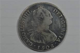 Bolivia 1808/9 Silver 4 Reales