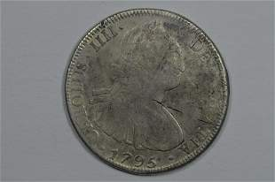 Bolivia 1795 PTS PP Silver 8 Reales
