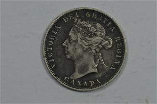 Canada 1892 Silver 25c
