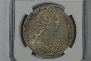 Eritrea 1918 R Silver Tallero