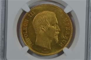 France 1857-A Gold 100 Francs