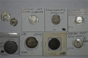 An Inquisitive Grouping of European Billon and Silver