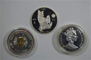 Modern Silver Coinage Threesome