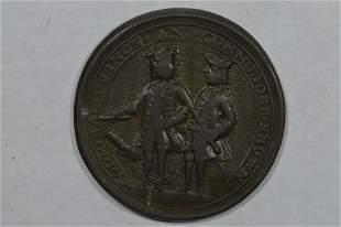 Great Britain. Admiral Vernon Medal, 1739 Porto Bello