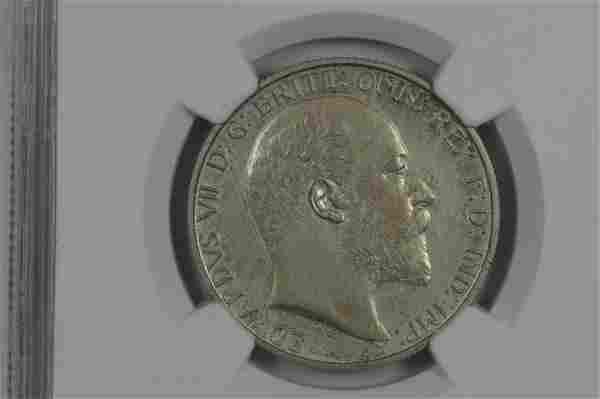 Great Britain 1902 Silver Florin