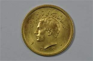 Iran SH1330 (1951) Gold Pahlavi