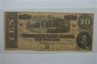 A Curious Confederate Advertising Note Error!