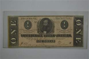 A C.S.A. Banknote